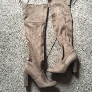 NWT over the knee boots!!!